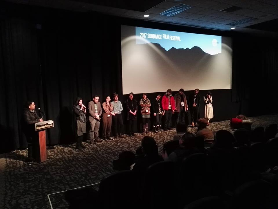 Premiere Screening in Yarrow Theatre. All present filmmakers of the Animation Spotlight in Q&A